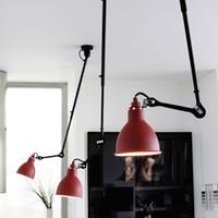 Wholesale bedside bedroom lights for sale - Group buy Swing Telescopic Long Rod Ceiling Lights Industrial Style Ceiling lamps LED Lighting for Bedside Dining Room Living Room Bar