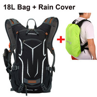 Wholesale bicycle bags resale online - Lixada18L Backpack Water resistant Cycling Bicycle Shoulder Backpack Gym Bag Ultralight Hydration Gym Bag with Rain Cover