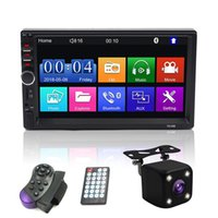 universal din auto radio dvd spieler großhandel-Universal 2 Din Auto Multimedia Player Autoradio 2 Din Stereo 7
