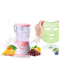 máquinas caseras al por mayor-Máquina de máscara de frutas Máquina de máscara facial Máquina de tratamiento facial DIY Automática Fruta Natural Vegetal Colágeno Uso en el hogar Belleza SPA Cuidado RRA1343