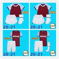 Wholesale west ham united jerseys resale online - MEN Kids West Home soccer jerseys United CHICHARITO HAM LANZINI ANTONIO F ANDERSON th Anniversary football shirts