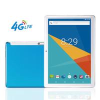 16gb sim kartlar toptan satış-4G LTE 10 inç Tablet PC Octa Çekirdek 1920 * 1200 IPS Bluetooth RAM 4 GB ROM 64 GB 4G Çift sim kart Telefon Görüşmesi Tablet Android 7.0 GPS 7 9 10.6 OTG
