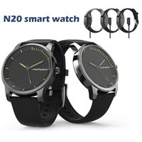 câmera de relógio de quartzo venda por atacado-Smartwatch Bluetooth N20 Quartz Relógio Inteligente Esporte Pedômetro Câmera Remota Relógio À Prova D 'Água IP68 SMS Lembrete Homens Smartwatch Para Android IOS