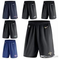 shorts de filadélfia venda por atacado-Filadélfia Eagles Raiders Raiders Oakland Jets Nova Iorque New York Giants Nova Orleães Saints Patriots Shorts de malha de desempenho