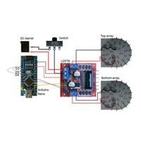ingrosso arduino diy-Levitator acustico 3D stampato TinyLev Funny Kit fai da te intelligente per Arduino Nano