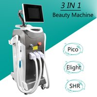 Wholesale hair korea for sale - SHR machine fast hair removal Elight acne therapy Korea Honeycomb Picosure Laser Tattoo Removal Machine CE approved