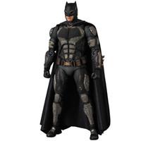 Wholesale batman v superman for sale - Group buy New hot sale MAF Justice League Batman v Superman Dawn of Justice batman tactical suit ver CM PVC gift for children