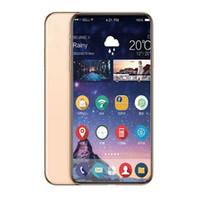 Wholesale 4g lte dual sim smartphones resale online - 2018 inch Goophone X Max Quad Core Android Smartphones GB RAM GB ROM Show Fake G G G lte Unlocked Phone