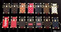 telefonkasten für lanyard großhandel-Luxus druckbuchstaben marke telefon case abdeckung für iphone x xs xr xs max 6 6 plus 6 s 7 7 plus 8 8 plus TPU silikon softshell mit lanyard