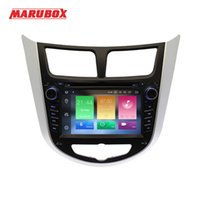 Wholesale hyundai multimedia player for sale - Group buy MARUBOX A300PX5 Car Multimedia Player For HYUNDAI Solaris Verna Accent Android G RAM ROM Radio GPS Navi DVD