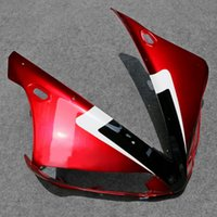 yamaha yzf carenado al por mayor-Faro delantero superior del carenado de nariz de la capucha en forma para Yamaha YZF-R1 YZF R1 2004-2006