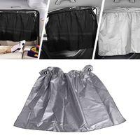 cortinas motorizadas venda por atacado-4 Peças de Lado Traseiro Da Janela Cortina Do Carro Sun Bloco Cortinas Veículo Motorizado Ventosa Carro Blackout Shades