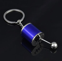 Wholesale transmission metal for sale – best Creative Car Gear Keychain Keyring Metal Pendant Key Chain Speed Manual Gear Transmission Gearbox Auto Keyring