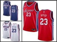 41c9d0428 18-19 Season Philadelphia Mens 76ers  23 Butler Blue Red White Jerseys New  Style In Stock