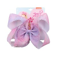 Wholesale pear clips for sale - Group buy 7 Inch JOJO siwa Bows Barrette Pear Hair Bows Knotted Hair Clips For Girls Fashion Headwear Kids Hair Accessories Hairpins