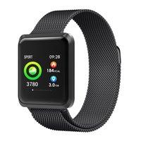 sport magnetischen armband großhandel-Docooler NB212 Smart Watch BT Bands Sport Armband 1,3