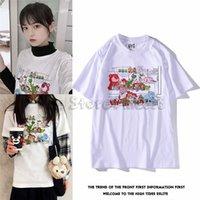 camisetas de juguete al por mayor-UNIQLO UT ToyStory T-shirts para hombre y mujer Top 2019 Toy Buzz Woody Story 4 Envío gratis DHL