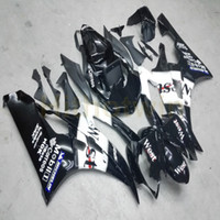 Wholesale motorcycle custom body kit resale online - Screws Custom black Injection mold motorcycle body kit for Yamaha YZF R6 YZF R6 ABS Fairing M2
