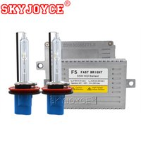 Wholesale ac conversion kits car for sale - Group buy SKYJOYCE AC W F5 Fast Bright Ballast HID Kit Xenon H1 H3 HB3 HB4 D2H K HID Bulb Car Light H7 H11 Conversion Kit
