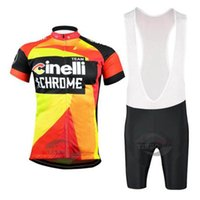 Wholesale bike jerseys kits for sale - 2019 Short sleeve Pro CINELLI Cycling Jersey Sets Team Breathable Cycling Kits Men MTB Bike Clothing Racing Sports Bicycle Wear Suits Y02208
