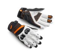 Wholesale motorbike riding gloves resale online - 2015 KTM RADICAL X carbon fiber motorcycle riding gloves motorbike leather gloves leather racing gloves