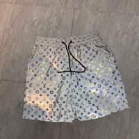 soluk tahtaları toptan satış-Moda tasarımcısı su geçirmez kumaş toptan yaz erkek şort marka giyim mayo naylon plaj pantolon yüzme kurulu şort spor kısa