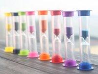 glas sanduhr sand timer großhandel-Souvenirs Mini Sanduhr Sanduhr Sanduhr Timer 60 Sekunden 1 Minute Glasrohr Timing Kochen Spiele Übung Gadget Geschenk