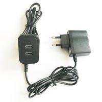 usb sockets china venda por atacado-Sul-coreano Venda Quente Acessórios Para Móveis Wholse da China 5 V2A Adaptador de Alimentação Extensor de Alimentação Dual Portas USB Carregador Soquete Longo 2.2 M