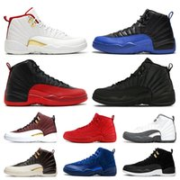 Wholesale gym game for sale - Group buy 2019 New Arrival FIBA s Basketball Shoes Men Game Royal Gym Red Winterized Bulls Flu Game designer mens trainers Sports Sneakers