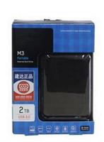 ücretsiz harici sabit diskler toptan satış-Ücretsiz kargo 2 TB M3 Taşınabilir Harici Sabit Disk USB3.0 2.5