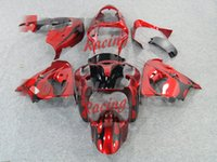 ingrosso zx9r carena rosso-3Gifts Nuova bici da moto ABS Carene Kits Fit For kawasaki Ninja ZX9R 2000 2001 ZX9R 00 01 carrozzeria set Fairing cool rosso nero