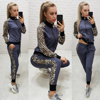 Wholesale knit cardigan outfits for sale - Group buy Women designer jacket legging outfits two piece set tracksuit outerwear tights sport suit long sleeve cardigan pants tracksuit hot klw2406