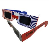 Wholesale Solar Viewer Glasses Adult Eclipse Viewings Glasses Safe CE Solar Viewing Eclipse Glasses
