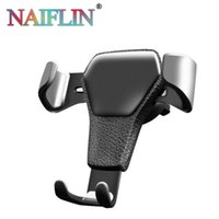 Wholesale car stands for sale for sale - Universal Car Phone Holder Air Vent Mount Stand For Phone In Car No Magnetic Mobile Phone Stand Holder with retail package hot sale