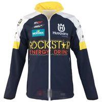 nylon-motorradjacke groihandel-Neu für HUSQVARNA Motocross Sweatshirts Outdoor-Sportarten Softshell-Jacke Motorrad-Rennjacken Mit Reißverschluss Warm halten