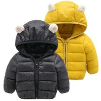 535f1d242 Baby Coat 2019 Autumn Winter Jacket For Baby Girls Boys Jacket Kids Warm  Hooded Outerwear Coat For Infant Jacket Newborn Clothes D241