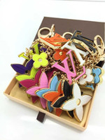 Wholesale gray glasses movies for sale - Group buy 2019 Gift KEY HOLDERS CHARMS MORE TAPAGE BAG CHARM KEY HOLDERS BAG CHARMS ENVELOPPE BAG CHARM KEY HOLDER M78608