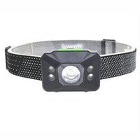 Wholesale New Mini Lumens R5 LED AAA Mode Waterproof Headlight Headlamp Head Lamp Light Flashlight Torch