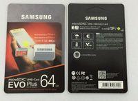Wholesale micro sd sdxc resale online - DHL shipping GB GB GB GB GB GB Original Samsung EVO Plus micro sd card U3 smartphone TF card C10 SDXC Storage card MB S