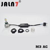 Wholesale motorcycle h4 light resale online - M3AC H4 Moto Led light H4 Led Motorcycle Headlight BA20D LED Moto Bulb W Lm H4 Head Motorbike Lamp