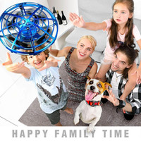 Wholesale toys for hands for sale - Group buy Mini Drone Ufo Hand Operated Rc Helicopter Quadrocopter Dron Infrared Induction Aircraft Flying Ball Toys For Kids