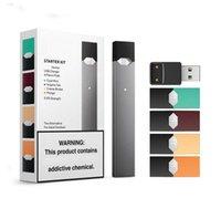 dampf-batterieladegeräte großhandel-Neueste V3 Starter Kit Dampfpatrone Portable Vape Pen 220mAh Batterie mit normalem Logo 4 Pods USB Ladegerät Portable Vape Pen Device Kit