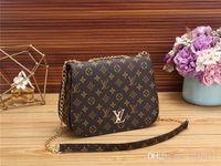 бренды женских сумочек оптовых-2019D609WDstyles Handbag Известный дизайнер Фирменное наименование Модные кожаные сумки Женщины Tote сумки на ремне Леди кожаные сумки сумки кошелек2018