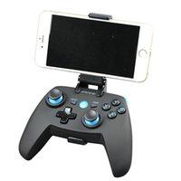 android için bluetooth denetleyicisi toptan satış-X10 Bluetooth Kablosuz Gamepad Android / IOS Telefon Oyun Konsolu PC TV Kutusu Joystick VR Denetleyicisi Mobil Joypad Için GB / CF / Pubg Oyunları