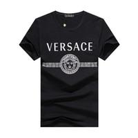 Wholesale boys summer t shirts for sale - Group buy U010 New Arrival Summer Designer Men T Shirt Hip Hop Short Sleeve Slim Tops Tees T Shirts Fashion Medusa Casual Man T Shirt Boy Tshirt