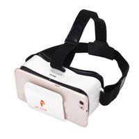 google 3d karton gözlük toptan satış-VR Google Karton Headmount VR 3D Sanal Gerçeklik Gözlükleri