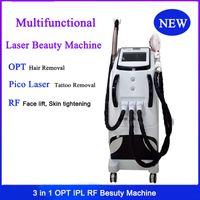 Wholesale salon ipl hair removal machines resale online - IPL RF Picosecond Laser Machine Hair Removal Pico Laser Tattoo Removal IPL SHR RF Skin Tightening Face Lift Beauty Salon Use
