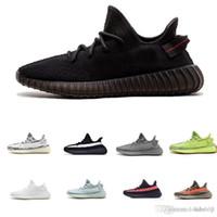 kırmızı ayakkabı fiyata toptan satış-2019 adidas yeezy 350 V2 off white boost sneakers Sneaker Özel fiyat sneaker yeni kanye xi koşu ayakkabıları gri turuncu çizgili zebralar siyah büyümek renk kalitesi sneakers