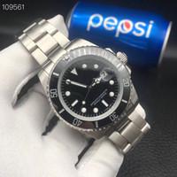 водонепроницаемые часы оптовых-Мужские наручные часы класса люкс 116610, сапфировое зеркало, керамическое кольцо, водонепроницаемые 50 м, изысканный стальной 316L ремешок для часов
