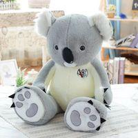 ingrosso bambole di dimensioni giganti-80cm New Giant Large Big Size Koala Peluche Peluche Bambola di pezza Regalo di compleanno